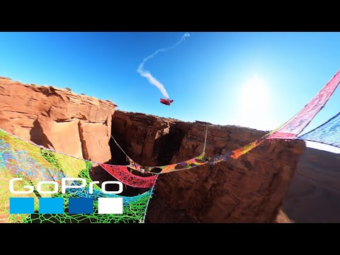 GoPro Awards: Wingsuiter Flies Through Narrow Hole Over 400ft Canyon in 4K