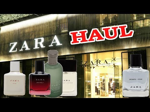 Zara Perfumes How Good Are They? Zara Fragrance Haul