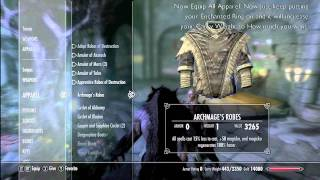New Skyrim Glitches l Infinite Carry Weight