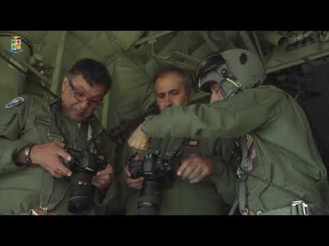 AERONAUTICA MILITARE SHOOTING FOTOGRAFICO AD ALTA QUOTA