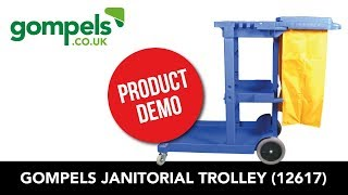 Product Demo - Janitorial Trolley (12617)