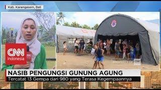 Nasib Pengungsi Gunung Agung Bali