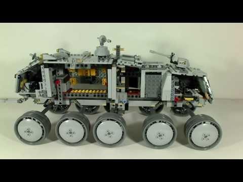 Vidéo LEGO Star Wars 8098 : Clone Turbo Tank