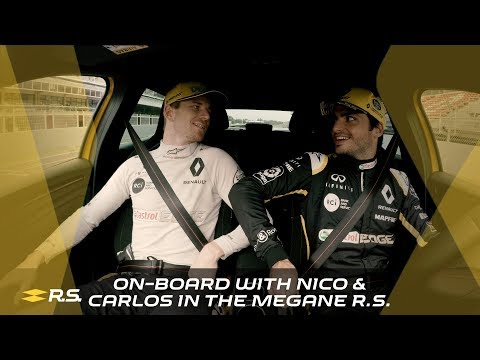 On-board with Nico & Carlos in the Mégane R.S.