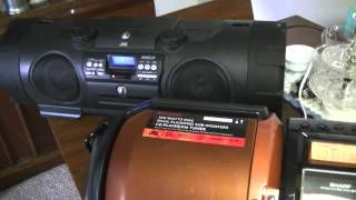 The Great BASS OFF! Pioneer Steez VS. Sharp GX-M10 VS. JVC RV-NB1 Kaboom