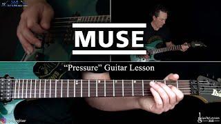 Pressure Guitar Lesson   Muse