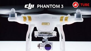 Квадрокоптер DJI Phantom 3: новый уровень видеосъёмок