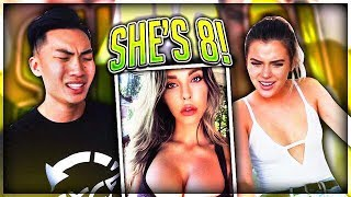 IMPOSSIBLE GUESS HER AGE CHALLENGE feat. Alissa Violet (We Failed..) | Kholo.pk