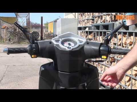 Peugeot Speedfight 3 - Zündschloss und Tacho