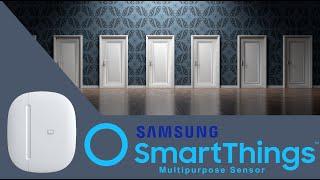 SmartThings Multipurpose Sensor - Unboxing, Review, Setup & Demo