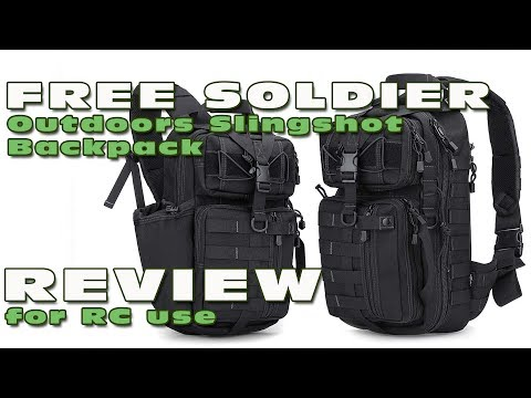 My review of the Free Soldier Slingshot backpack (for RC use)