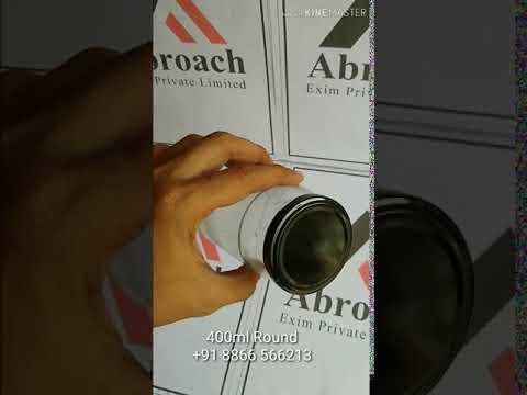 400 ml Round Glass Jar