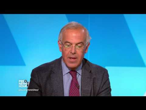 Shields and Brooks on Trump's first trip, press bashing in Montana
