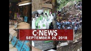 UNTV: C-News (September 20, 2018)