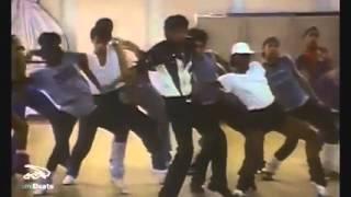 "Michael Jackson Ensayo De ""Thriller"""