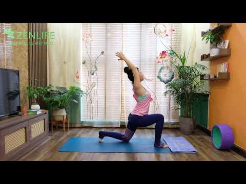 Yoga Trị Mất Ngủ.10 Phút Cho Giấc Ngủ Ngon Với Yoga