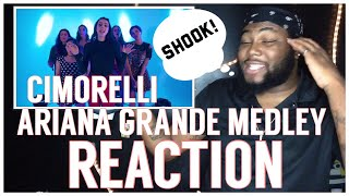 ‪ARIANA GRANDE MEDLEY - Dangerous Woman, Into You, One Last Time + More | REACTION ‬