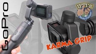 GoPro Karma Grip : Handheld Stabiliser for Hero 5 Black - Full REVIEW & SAMPLE CLIPS!