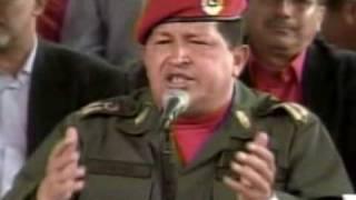 CHAVEZ MANDA A LAVARSE ESE PALTO A OBAMA.