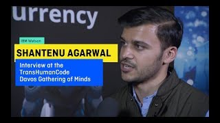 TransHumanCode.COM Davos 2018 Gathering of Minds Interview with SHANTENU AGARWAL