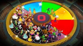 Super Mario Party MiniGames - Mario Vs Yoshi Vs Bowser Vs Bowser Jr (Master Difficulty)