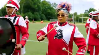 Da' Brat Fits Right in to the Drum Line   Rickey Smiley For Real