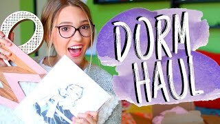 College Dorm Haul 2016! What I Bought for My New York City Apartment!