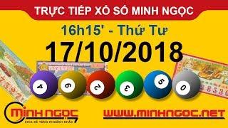 Xổ số Minh Ngọc™ Thứ Tư 17/10/2018 - Kênh chính thức từ Minhngoc.net.vn
