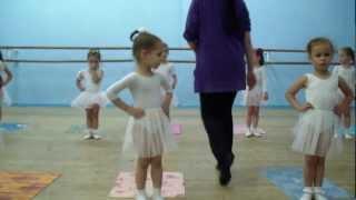 Открытый урок в Харьковской балетной школе ч.1
