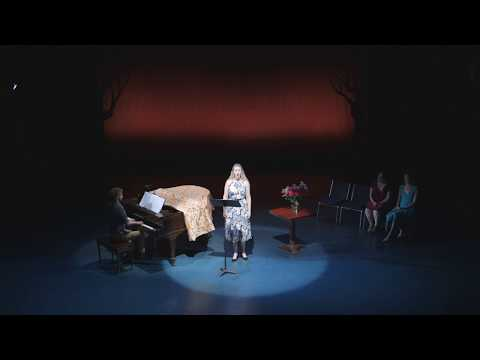 Je garde une médaille d'elle by Lili Boulanger, performed at La Mama Experimental Theatre Club in New York. Edward Forstman on piano.