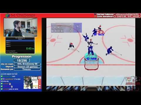 #18 N64 Challenge - NHL Breakaway 98