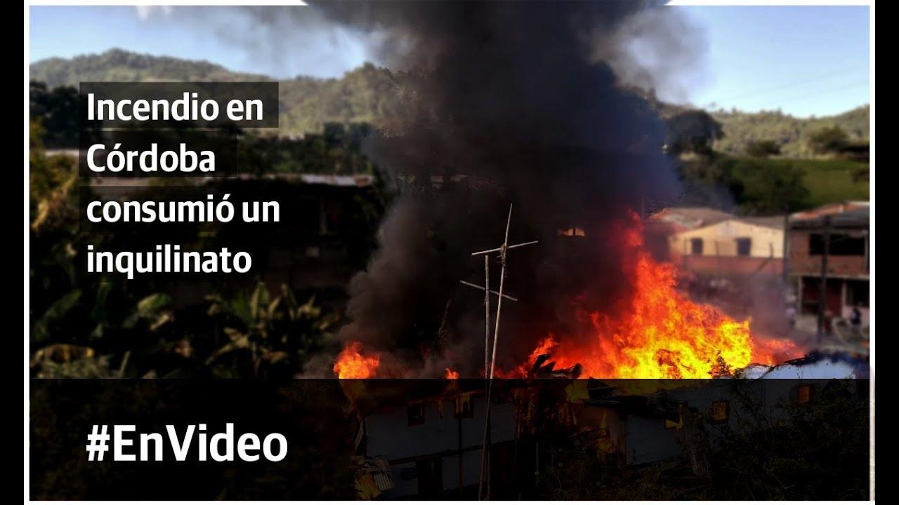 Grave incendio en Córdoba consumió un inquilinato