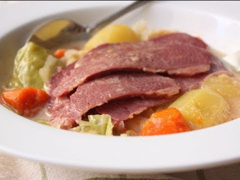 Coconut Milk Corned Beef and Cabbage – Corned Beef Cooked in Coconut Milk and Red Curry