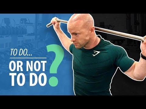 BEHIND THE NECK LAT PULLDOWNS - To Do or Not To Do?