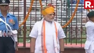 PM Narendra Modi Arrives At The Red Fort, To Address The Nation | #IndependenceDay2019