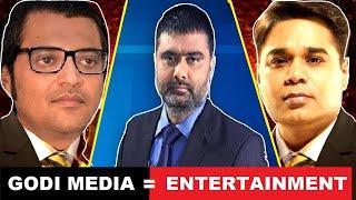 Godi Media | Arnab Goswami | Amish Devgan | BnD | Dalal Media | news entertainment | Funny Comedy
