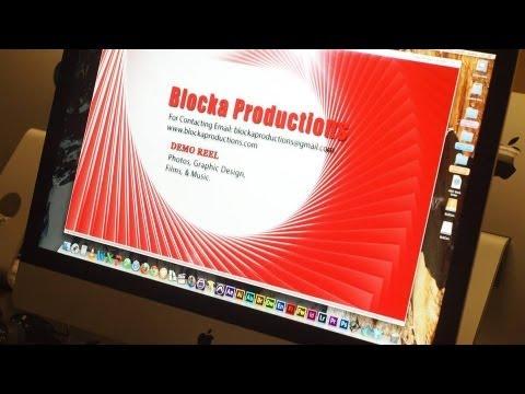 Blocka Productions Demo Reel 2013