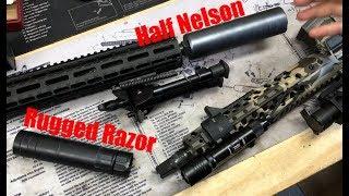 308 AR10 + The Q Half Nelson suppressor
