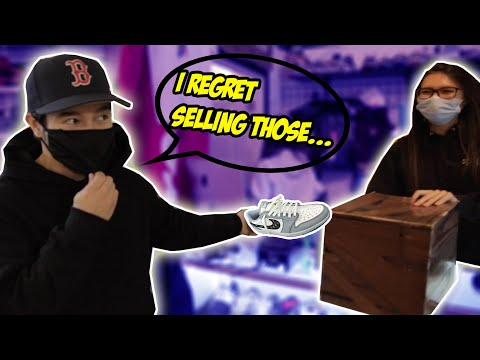BUYING BACK ALL THE SNEAKERS I REGRET SELLING?!