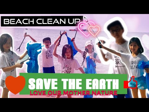 Beach Clean Up | Save The Earth | Protect The Earth