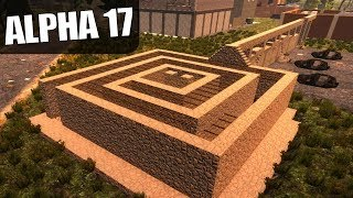 ALPHA 17 | WILL I NEED THE ESCAPE BRIDGE? | 7 Days to Die Alpha 17 Gameplay | S17.3E26