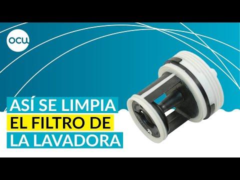 Lavadoras: Cómo limpiar el filtro y realizar el mantenimiento
