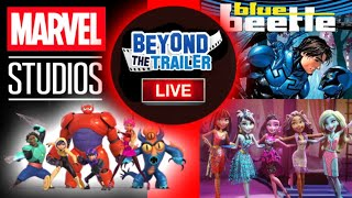 Big Hero 6 in the MCU? DCEU Blue Beetle Movie! Monster High Live Action Movie by Beyond The Trailer