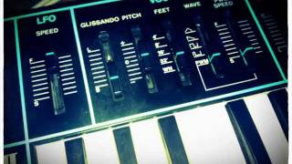 Yamaha CS01II plays BIG MUFF by Depeche Mode