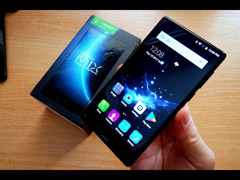 Leagoo KIICAA MIX Unboxing - Cheapest Bezel Less Phone from China