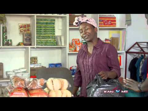 The big note problem.  Kansiime Anne.  African comedy.