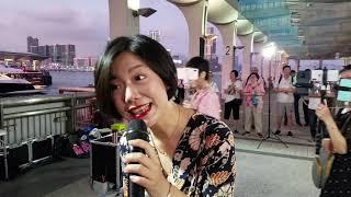 19/05/18(開場曲 19:01)流年+採紅菱+夢  香港旺角小龍女 龍婷 @中環10號碼頭