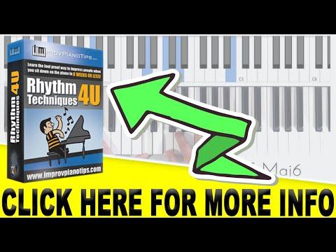 "Online Piano Course: ""RhythmTechniques4u"" (Sneak Peek)"