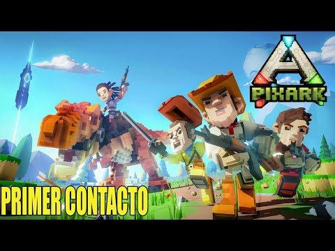 Gameplay de PixARK