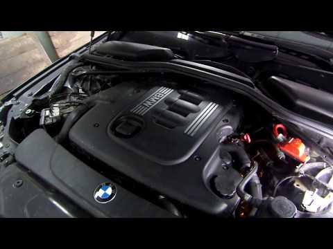 Замена клапанной крышки BMW e61-e60  двсM47